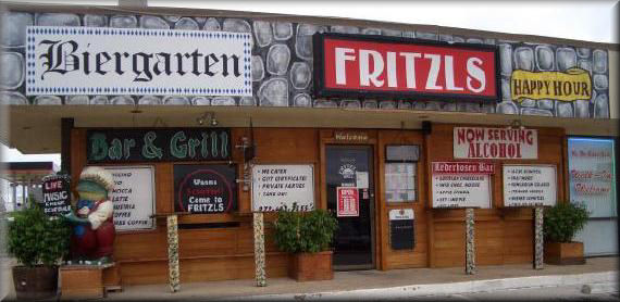 Austrian And German Dining The Cozy Fritzl S Elishment Is Located On Corner Of Lakeview Parkway Hwy 66 Rowlett Rd In Texas